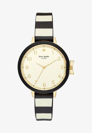 PARK ROW - Horloge - schwarz/beige