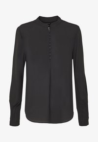 Selected Femme - SLFDYLANA - Button-down blouse - black - 4