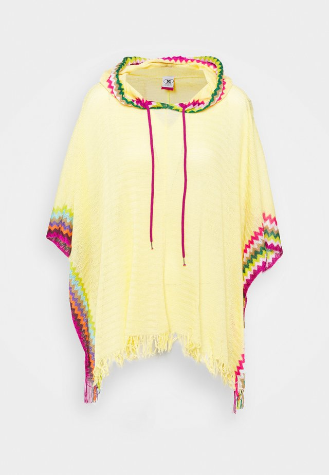 PONCHO - Beach accessory - yellow