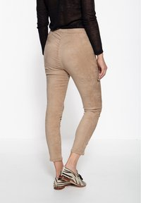 Amor, Trust & Truth - SLIM FIT - Trousers - beige - 2