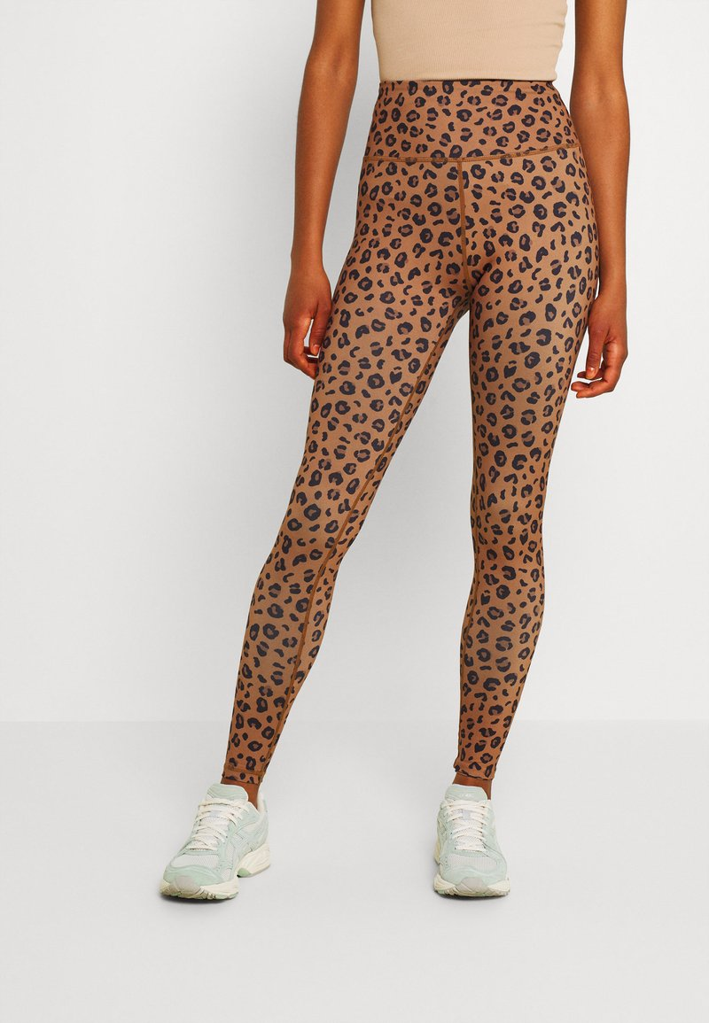 Never Fully Dressed - LEOPARD - Leggings - Trousers - brown
