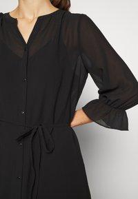 Vila - VIASTRID BUTTON TIE BELT DRESS - Maxi dress - black - 5