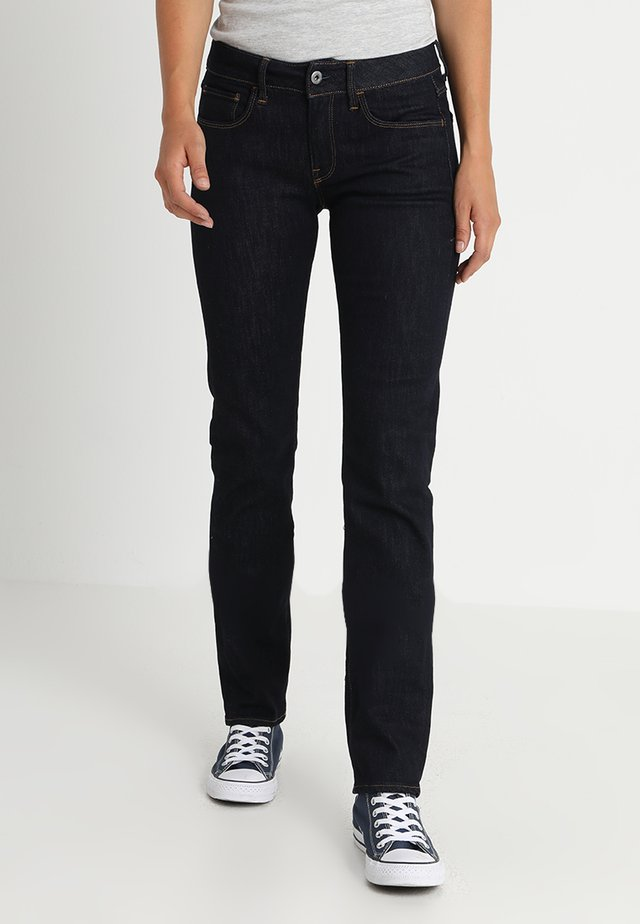 3301 DC STRAIGHT - Straight leg jeans - visor stretch denim