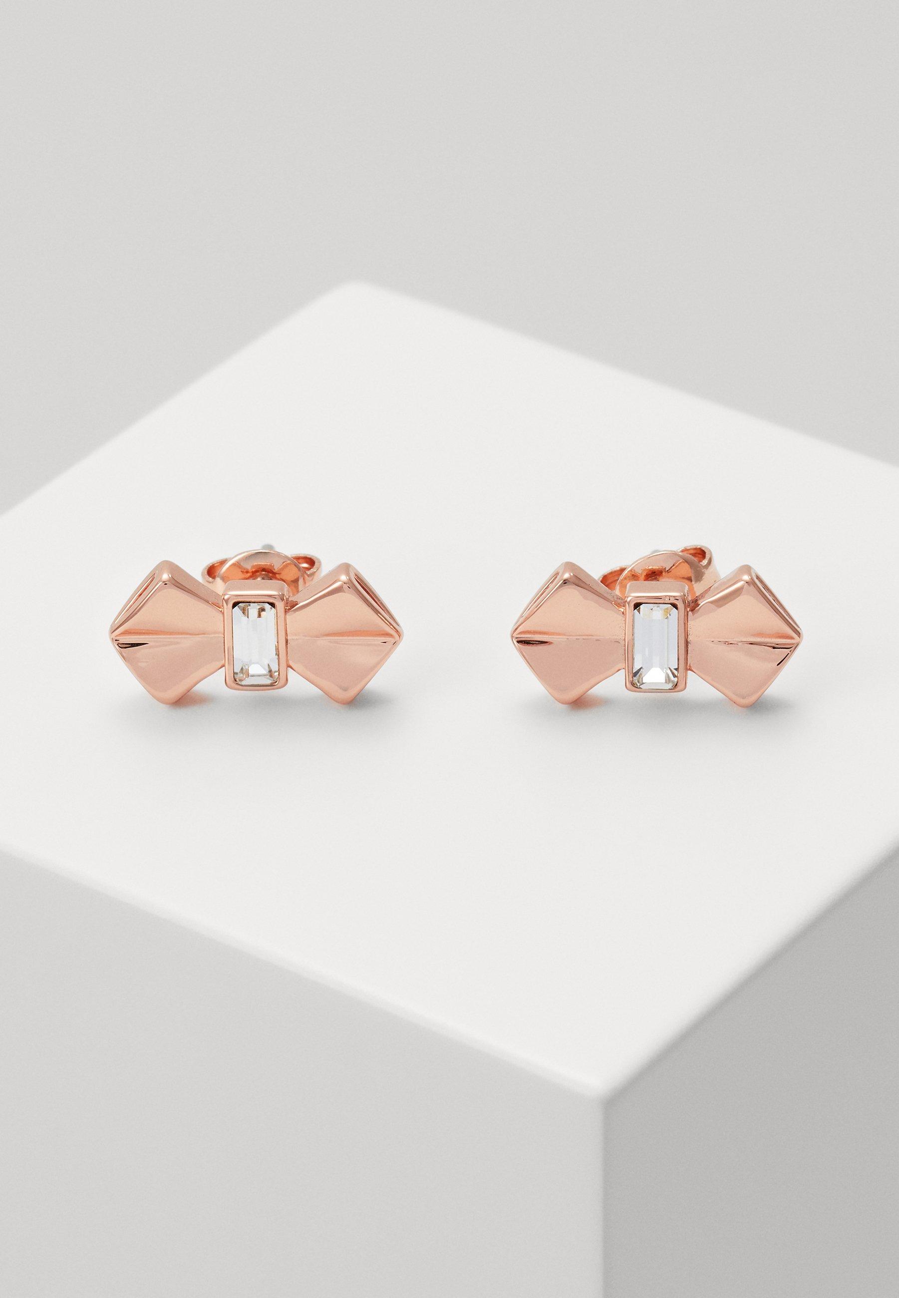 Ted Baker Susli Bow Stud Earring Earrings Rose Gold Coloured Zalando Co Uk