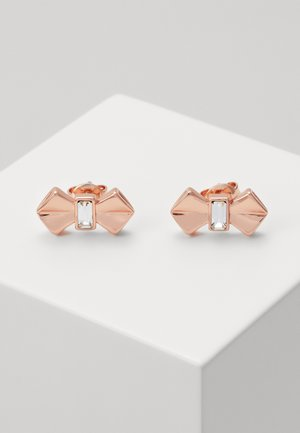 SUSLI BOW STUD EARRING - Earrings - rose gold-coloured