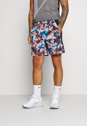 LAUNCH PRINT SHORT - Sports shorts - cinna red