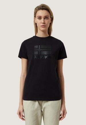 SHYAMOLI - Print T-shirt - black
