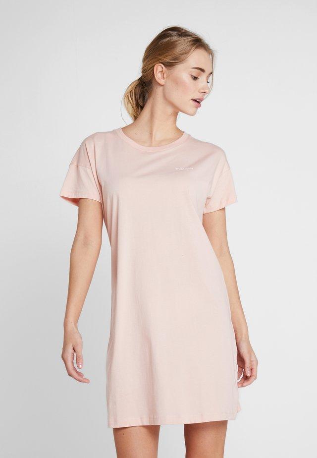PARK™ PRINTED DRESS - Trikoomekko - peach cloud