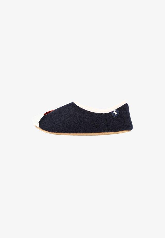 Slippers - französisch marineblau