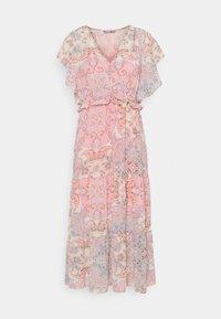 ONLY - ONLALLY MIDI DRESS - Vestido informal - sugar coral - 0
