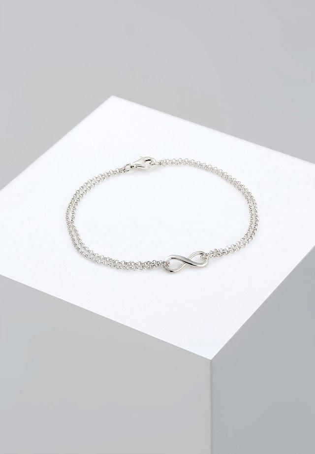 INFINITY - Bracelet - silberfarben