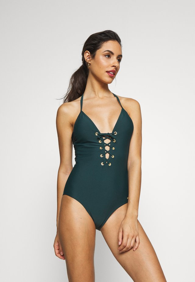 SWIMSUIT LOU - Plavky - green