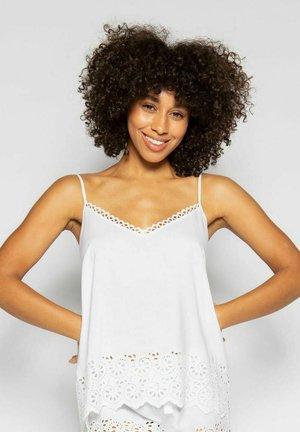 Pyjamashirt - white