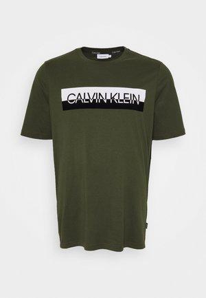 SPLIT LOGO - T-Shirt print - green