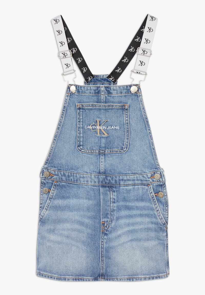 Calvin Klein Jeans - DUNGAREE DRESS  - Denimové šaty - denim
