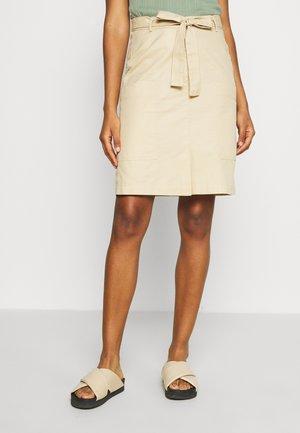 BIZZY SKIRT - Pencil skirt - warm sand