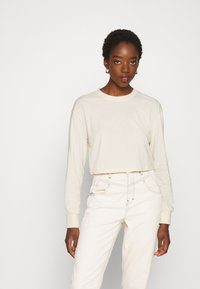 Even&Odd - Long sleeved top - stone - 0