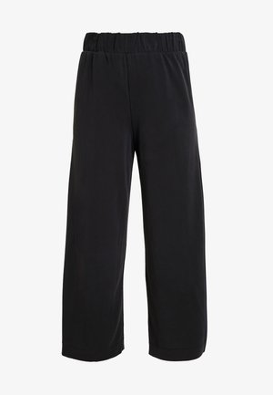 CILLA FANCY TROUSERS - Kangashousut - black