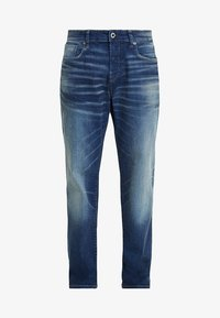 3301 LOOSE FIT - Relaxed fit jeans - joane stretch denim - worker blue faded