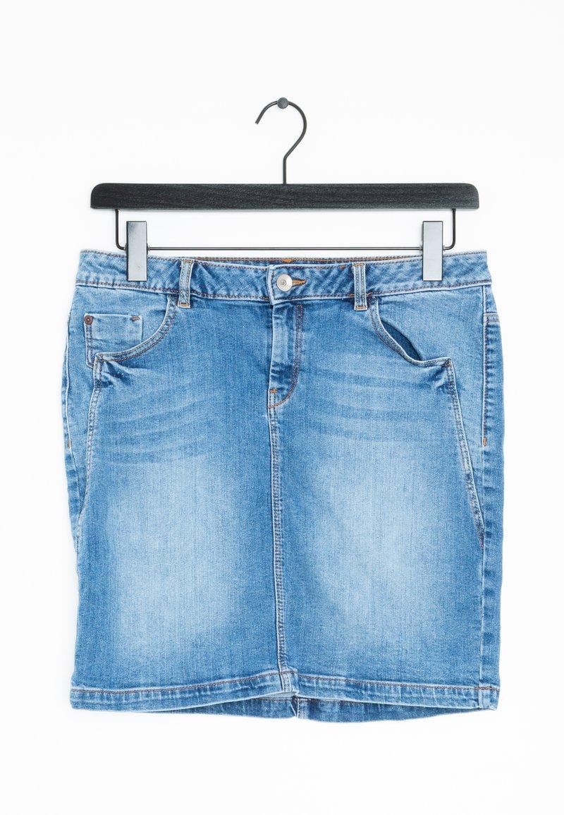 Esprit - Spódnica jeansowa - blue