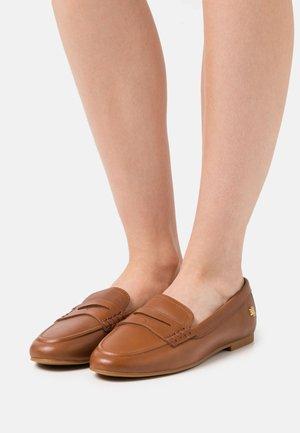 ADISON - Scarpe senza lacci - deep saddle tan