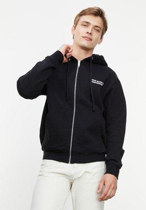 À CAPUCHE LOGO POITRINE - Zip-up hoodie - black