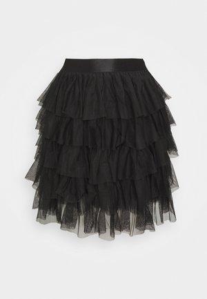 ONLEMILIA SKIRT  - Mini skirts  - black