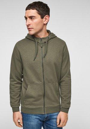FELPA - Zip-up hoodie - olive