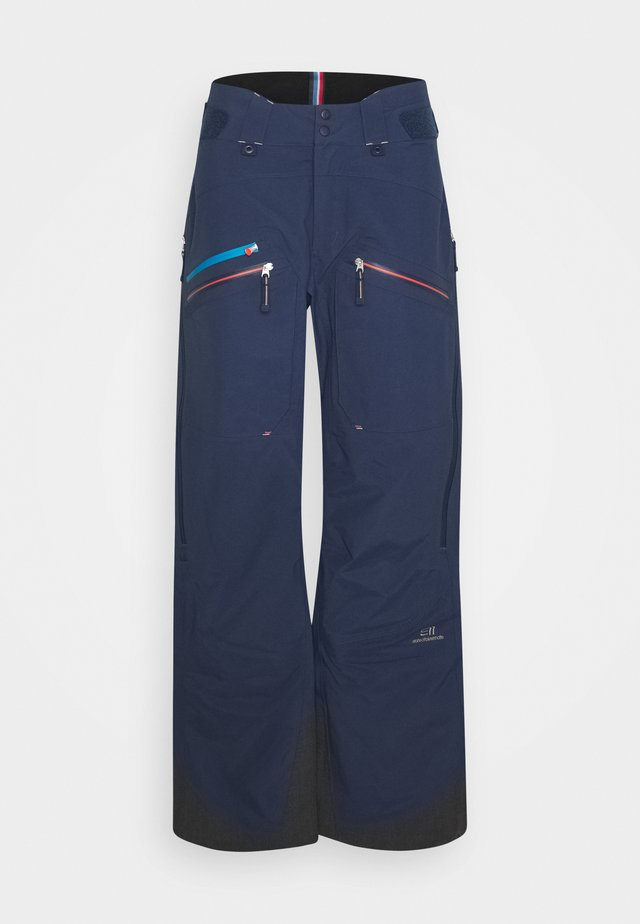 MEN'S BACKSIDE PANTS - Pantalón de nieve - dark blue