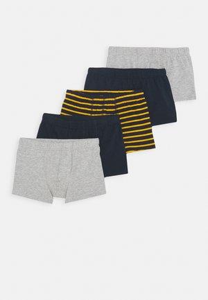 NKMTIGHTS 5 PACK  - Onderbroeken - grey melange