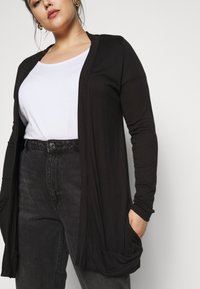 CAPSULE by Simply Be - BOYFRIEND CARDIGAN - Cardigan - black