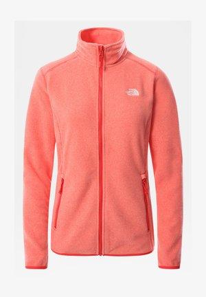 GLACIER FULL ZIP - Fleece jacket - horizon red/pearl blush