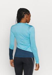 La Sportiva - DASH LONG SLEEVE - Sports shirt - pacific blue/opal - 2