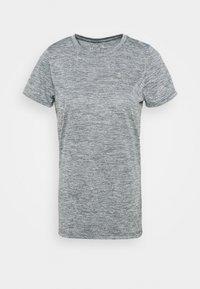 TECH TWIST - Camiseta básica - pitch gray