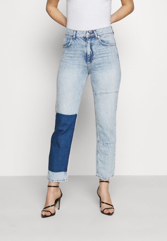 STRAIGHT LEG PANEL  - Jeans a sigaretta - light blue