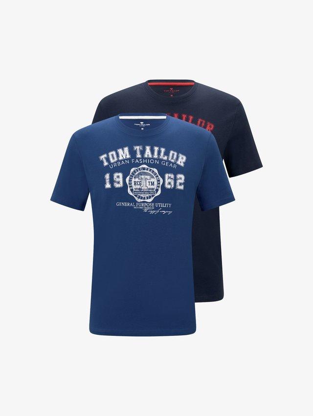 Pack of 2 - T-shirt print - dark blue