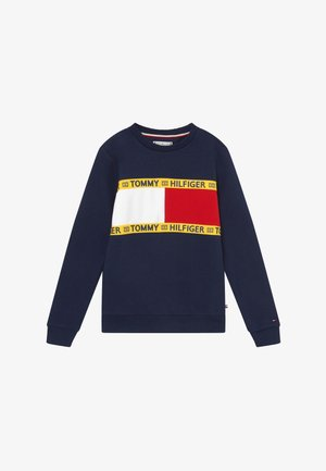 FLAG CREW  - Sweatshirt - blue