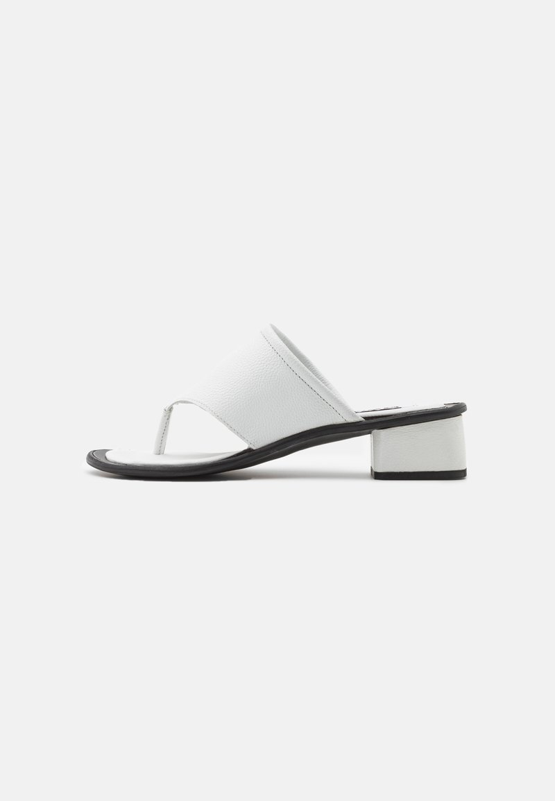 ASRA - JAMMIE - Varvassandaalit - white