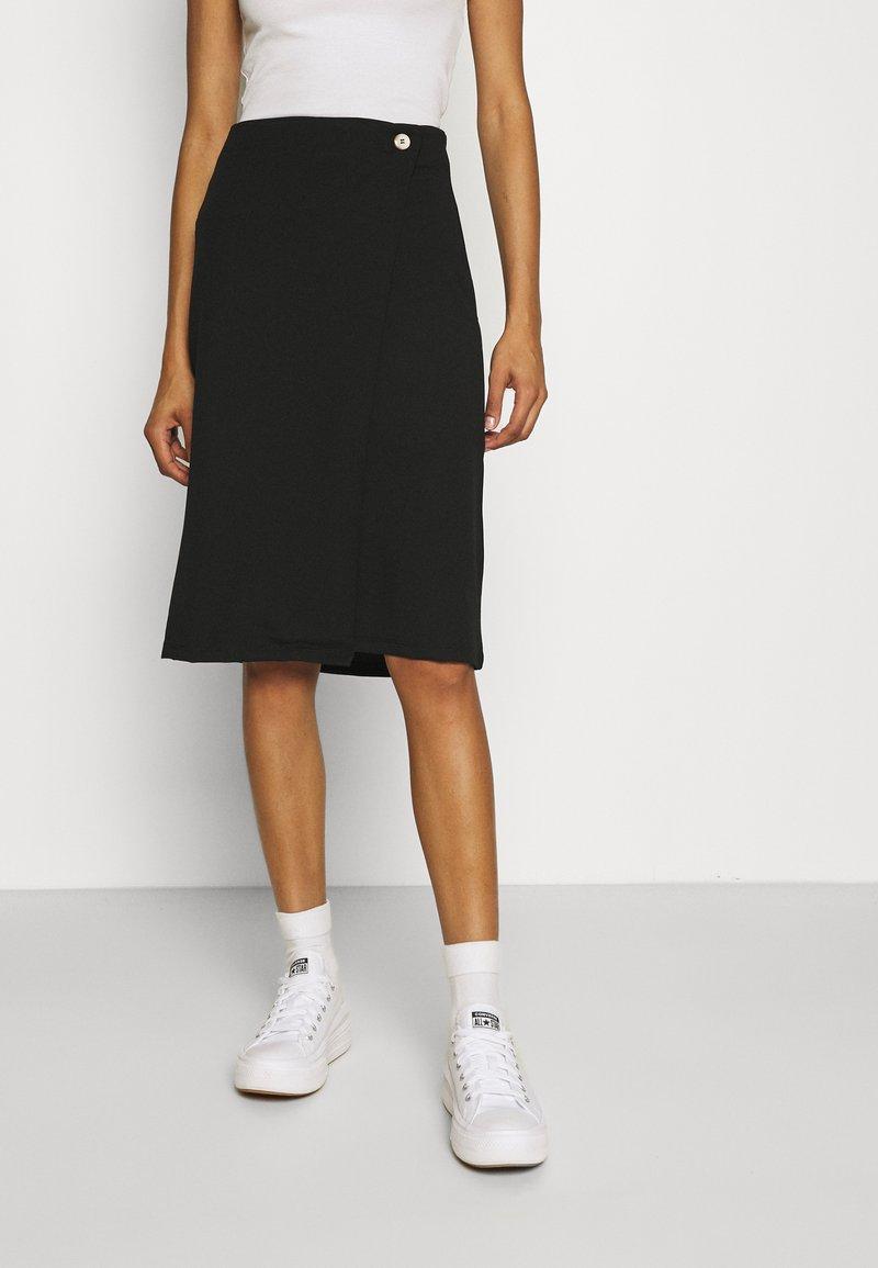 Zign - Wrap skirt - black