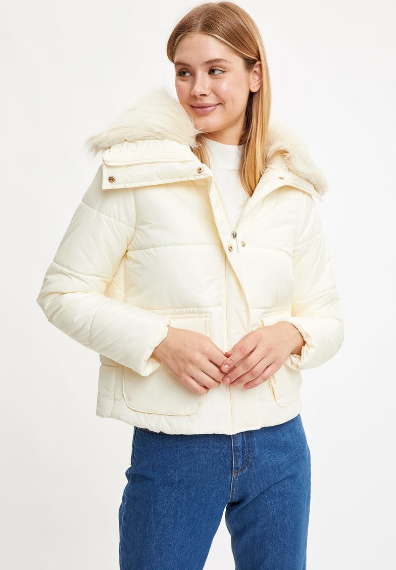 DeFacto - Winter jacket - ecru