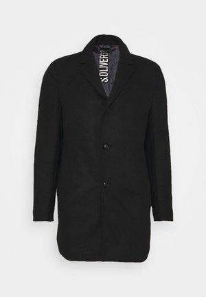 Klassischer Mantel - black