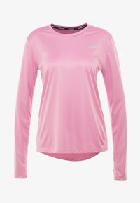 Nike Performance - MILER - Funktionsshirt - magic flamingo/reflective silver - 7