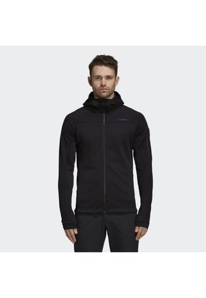 STOCKHORN HOODED JACKET - Fleece jacket - black