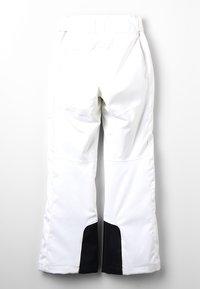 Kjus - GIRLS CARPA PANTS - Zimní kalhoty - white - 1