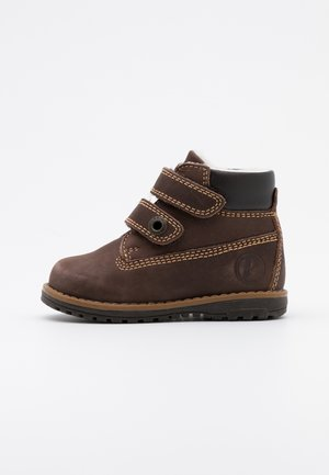 WARM LINING UNISEX - Bottines - marrone scuro