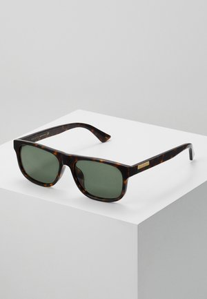 Sunglasses - havana/green