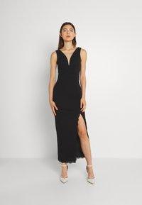 WAL G. - HARRY MAXI DRESS - Společenské šaty - black - 0