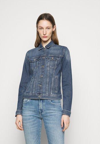 MODERN TRUCKER LUXE VINTAGE PACIFIC GROVE - Denim jacket - mid blue
