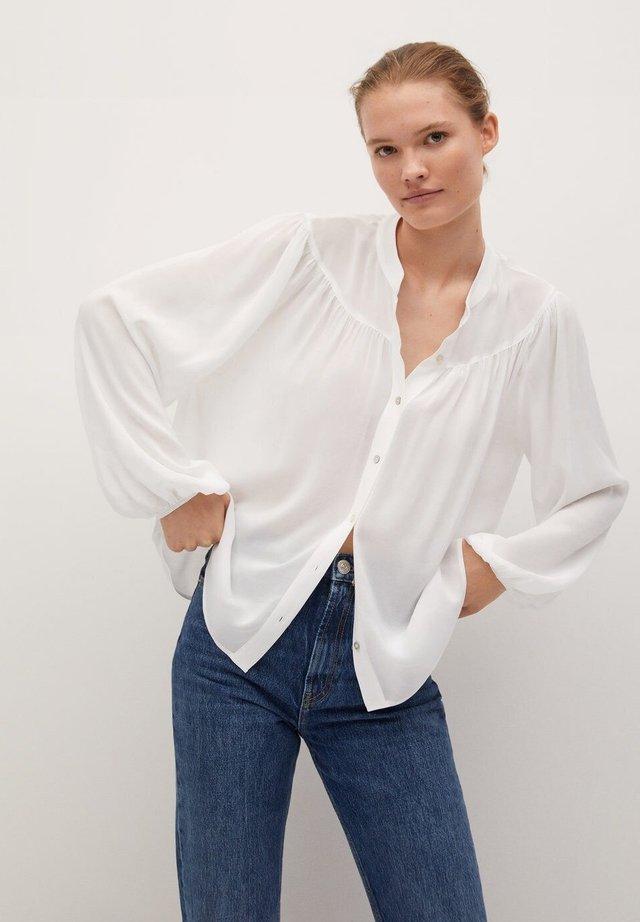 MINT - Camicia - blanc cassé