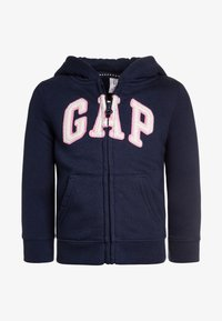 GAP - TODDLER GIRL LOGO - Felpa aperta - elysian blue - 0